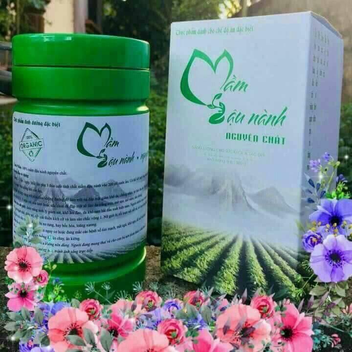 Mầm đậu nành tăng vòng một, bổ sung sức khỏe Thanh Mộc Hương