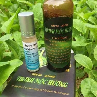 Thuốc Tiêu ho Bổ phế Thanh Mộc Hương